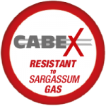 CABEX is resistant to sargassum gas